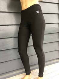 JL Polypro Tights - Black